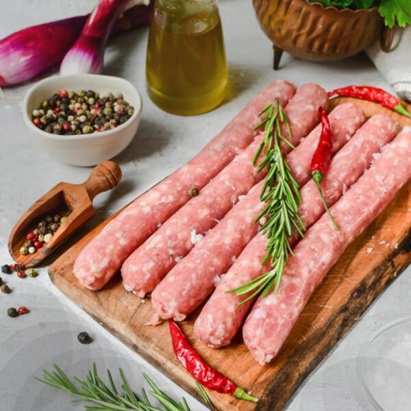 Колбаски по-итальянски с горчицей и паприкой