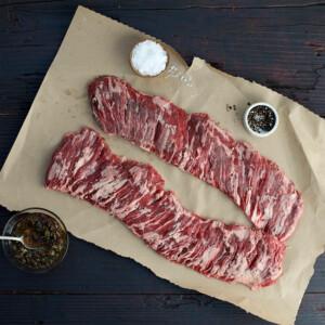 Мачетте стейк из южноамериканской премиальной говядины вакуум (200г) ATD